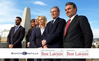 Javier Delgado, Socio Director de Bufete Castilla, referenciado en The Best Lawyers '21